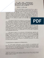 Report to the Joint Congressional Oversight Committee 13 APR 2020
