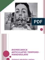 Biomecanica Articulatiei Temporo Mandibulare