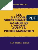 5_faC3A7ons_surprenantes_de_gagner_de_argent_avec_programmation.pdf