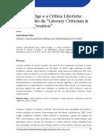 David Lodge e a crítica literária
