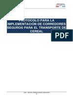 Protocolo Corredores Seguro Transporte de Cereales