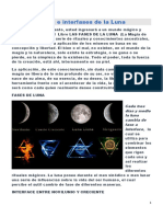Fases e interfases de la Luna