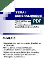 TEMA I.Generalidades
