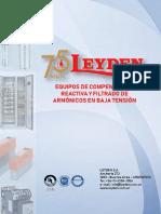 Catalogo Leyden Baja Tensión