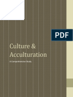 Culture & Acculturation (A Comprehensive Study)