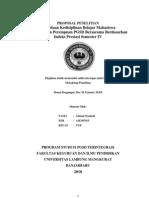 Perbedaan Kedisiplinan Belajar Mahasiswa Laki-Laki Dan Perempuan PGSD Berasrama Berdasarkan Indeks Prestasi Semester IV