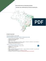 LISTAGEM DE INSTITUTOS DE TÉCNOLOGIAS NO BRASIL - Pesquisa Coordenação Civil