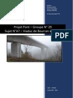 Projet Pont - Groupe 29