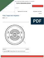 Water Temperature Regulator 3126 Caterpillar