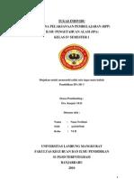 RPP IPA Benda Kelas IV Semester I