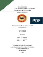 RPP IPA Hubungan Antar Makhluk Hidup Kelas IV Semester I