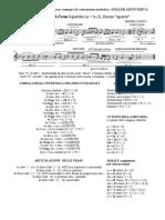 Analisi melodia