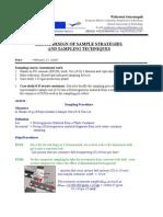 AM0801-Design of Sample Strategies and Sampling Techniques_Widiastuti Setyaningsih