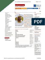 Magret con salsa de miel de flores y pimienta verde