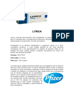 Lyrica Pfizer