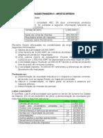CONTABILIDADE FINANCEIRA IV - IMPOSTOS  DIFERIDOS EXRECICIOS.docx