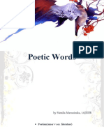 Poetic Words (2)