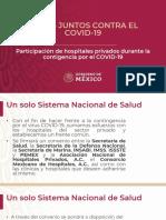 CPM Convenio COVID-19 Hospitales Privados, 13abr20