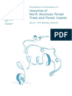 isozymes of North American forest trees and forest insects