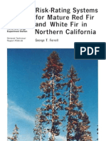 Risk-rating systems for mature red fir and white fir in northern California