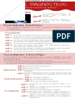 Medios diagnósticos cardiovasculares