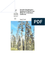 Growth classification systems for red fir and white fir in northern California