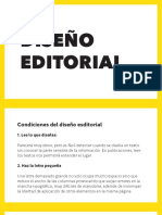 Diseño editorial Diapositivas