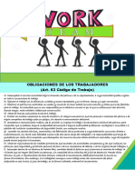 2. Obligaciones de los trabajadores