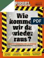 Der Spiegel Magazin No 14 vom 28 März 2020