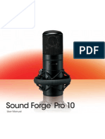 Sound Forge Pro10 Manual