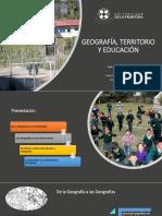 Geografía, territorio y Educación