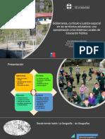 Gobernaza, currículo y justicia espacial en los territorios educativos