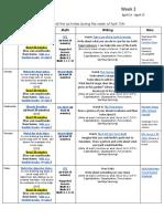 week of 13th-17th online kanoelani weekly plans