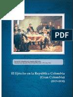 EL EJERCITO EN LA GRAN COLOMBIA