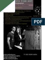 Flyer - Koukouvaya Fine Art Photography - Models Folio [Colour]