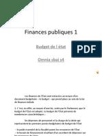Finances Publiques TD1