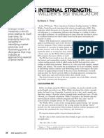 Wayne A. Thorp - Measuring Internal Strength - Wilders RSI Indicator.pdf