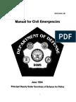 DoD 3025 Manual For Civil Emergencies 1994