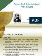 Sejarah Dan Administrasi Tes Intelegensi Binet1