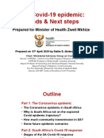 SA Covid 19 Epidemic_Trends and Next Steps