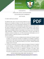 Comunicado de Rectoría 08 para Docentes, directivos y personal administrativo