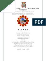 SILABO INGENIERIA DEL TRANSPORTE_2018-II