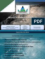 Presentación Proyecto Minero de Hierro Doña Sol