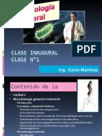 Clase N°1.Microbiología. Introducción