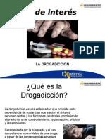 tema de interes drogadicción