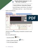 USB& RS232  Operation Manual