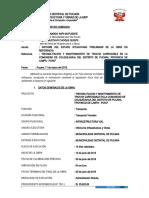 REVISION DE LIQUIDACION, HABILITACION Y MANTENIMIENTO DE TROCHA CARROZABLE