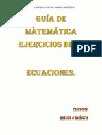 GUIA DE ECUACIONES EJERCICIO-miguelmuñoz-1er