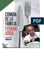 CcLa Comida de La Familia - Ferran Adria
