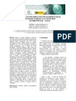 Avaliação dos impactos ambientais da atividade turística no município de Pirenópolis